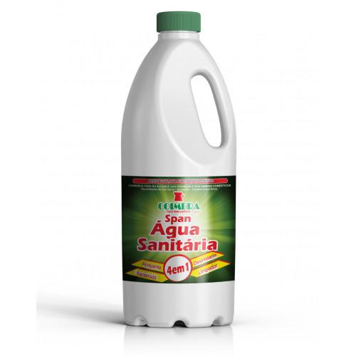 SPAN ÁGUA SANITÁRIA 0002L  - preço por litro:R$3,65