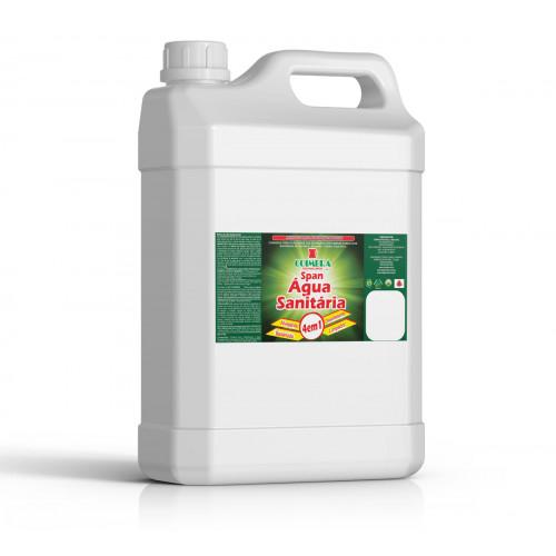 SPAN ÁGUA SANITÁRIA 0005L - preço por litro:R$3,68