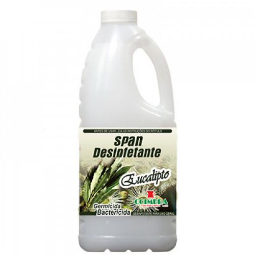 SPAN DESINFETANTE EUCALIPTO 0002L - preço por litro:R$3,20