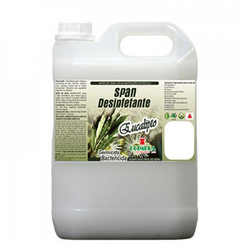 SPAN DESINFETANTE EUCALIPTO 0005L - preço por litro:R$5,20