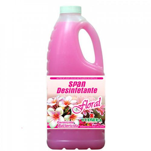 SPAN DESINFETANTE FLORAL 0002L - preço por litro:R$4,10