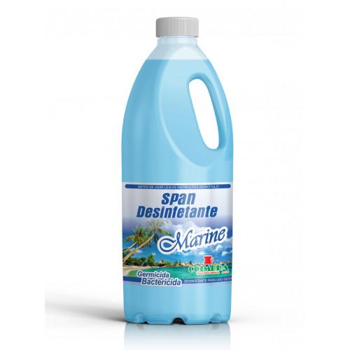 SPAN DESINFETANTE MARINE 0002L - preço por litro:R$4,10